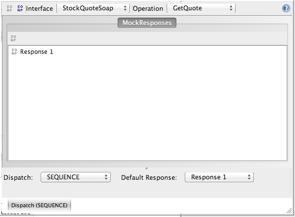 SoapUI Operation MockResponses